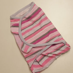 Swaddle Me Pink Striped Baby Swaddler